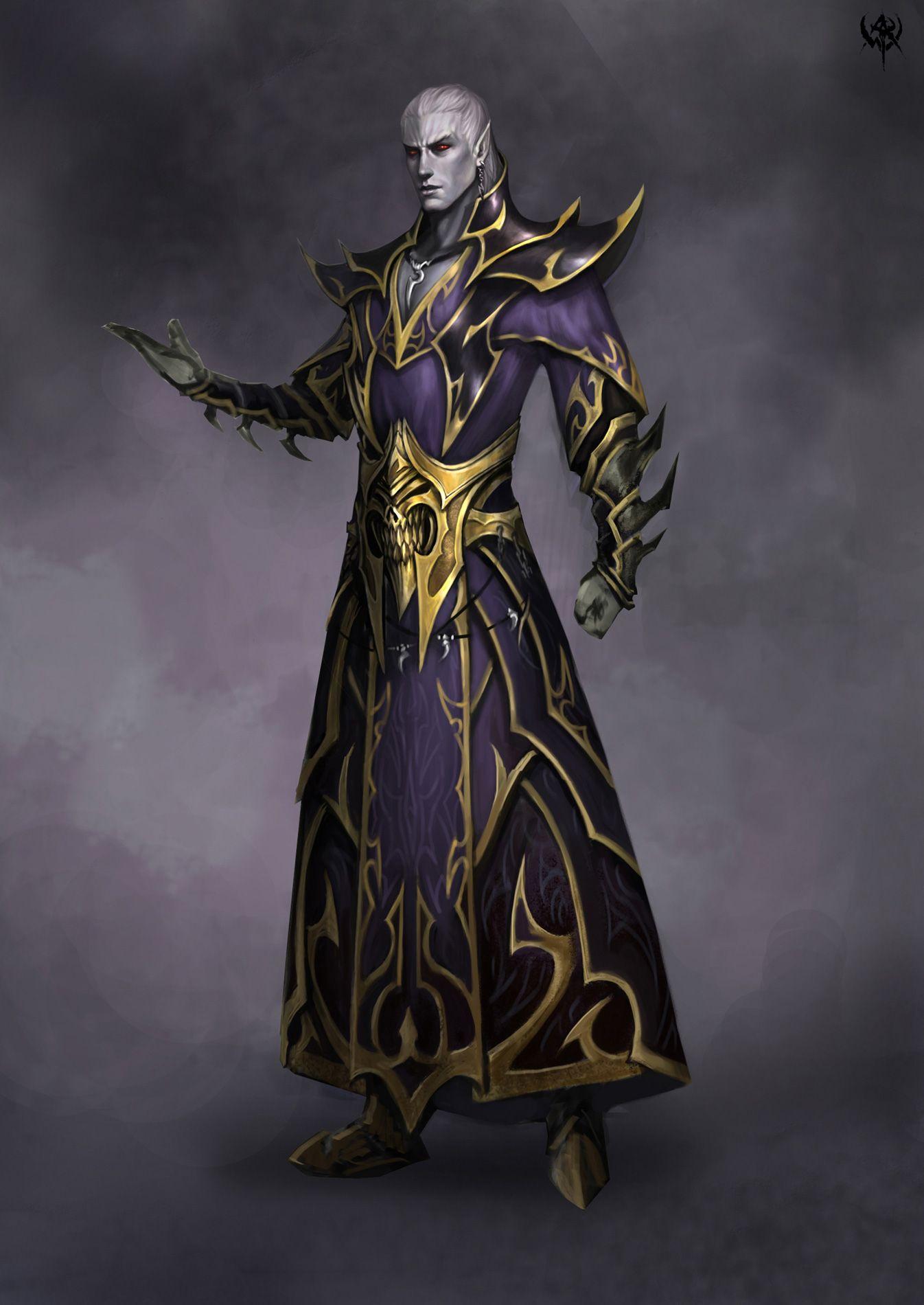 wizard Dark elf