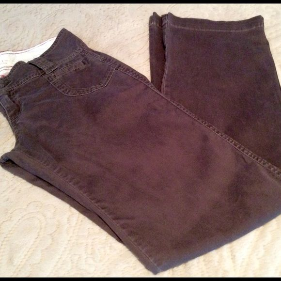 """OLD NAVY THIN CORDUROY PANTS SIZE 1 ~ BROWN ~ INSEAM 32"""" ~ VGC Old Navy Pants Boot Cut & Flare"""