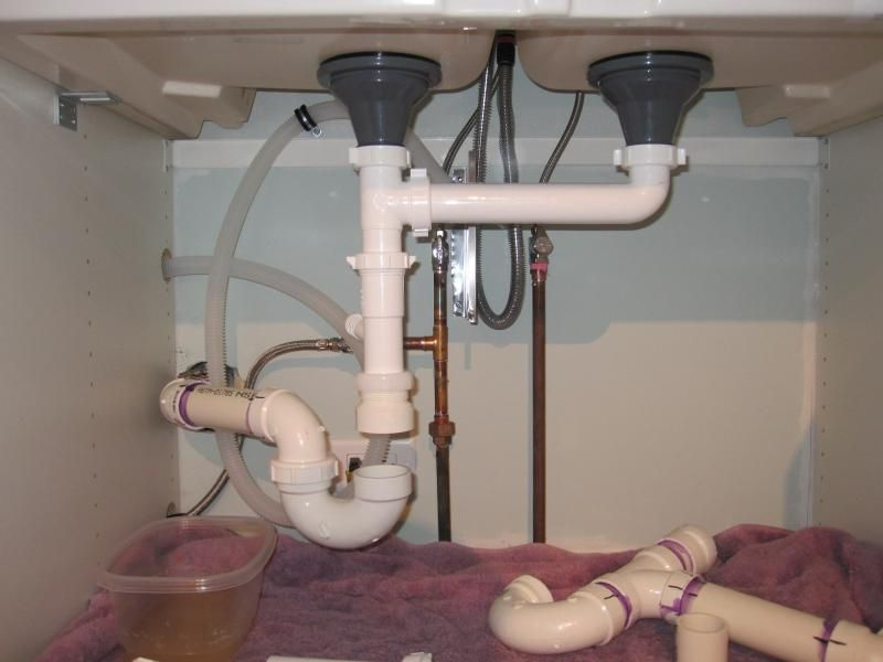 Plumbing An Ikea Domsjo 36 Double Sink Ikea Farmhouse