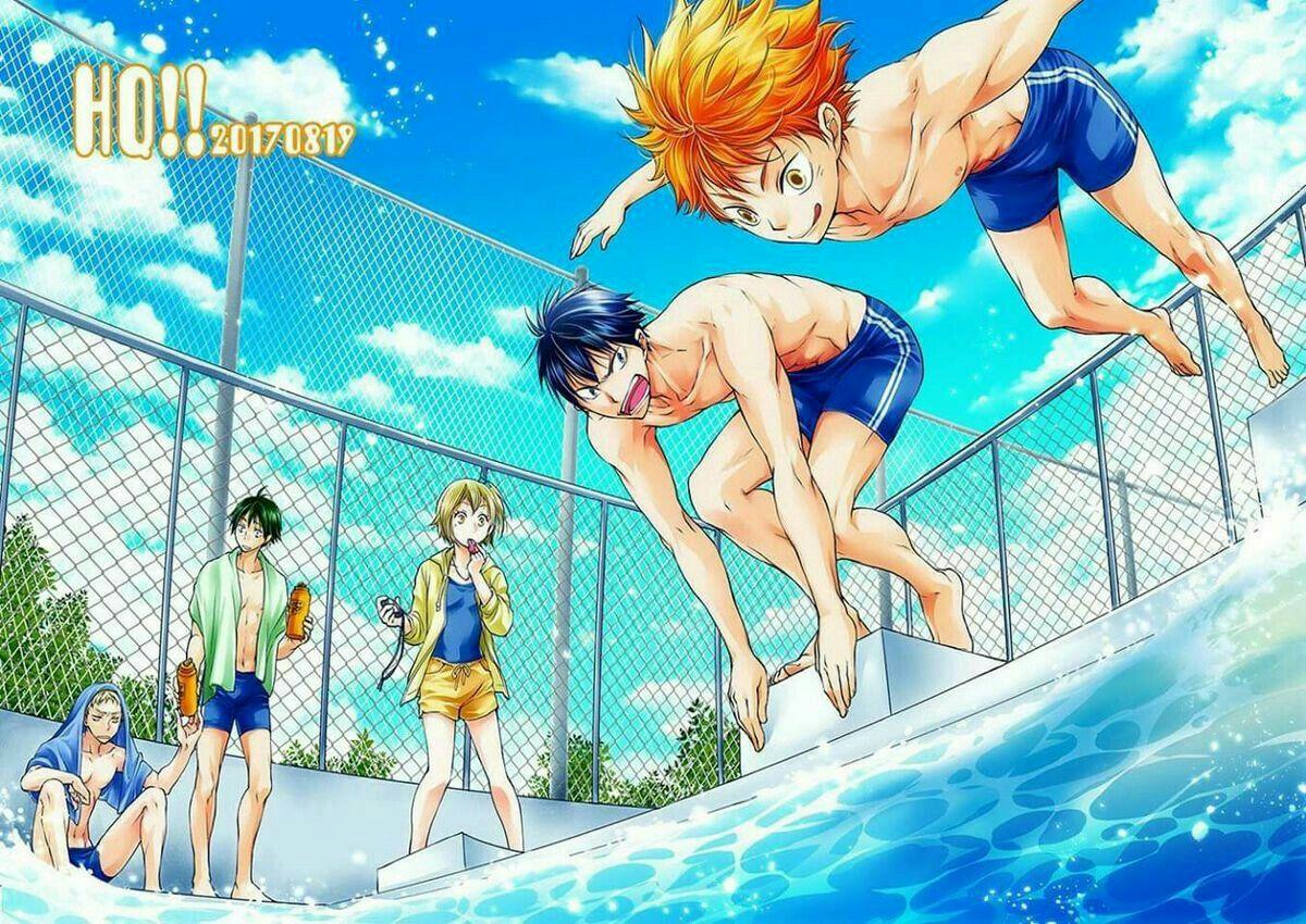 Haikyuu Swimming Free Lmao Au Haikyuu Karasuno Kagehina Haikyuu Anime