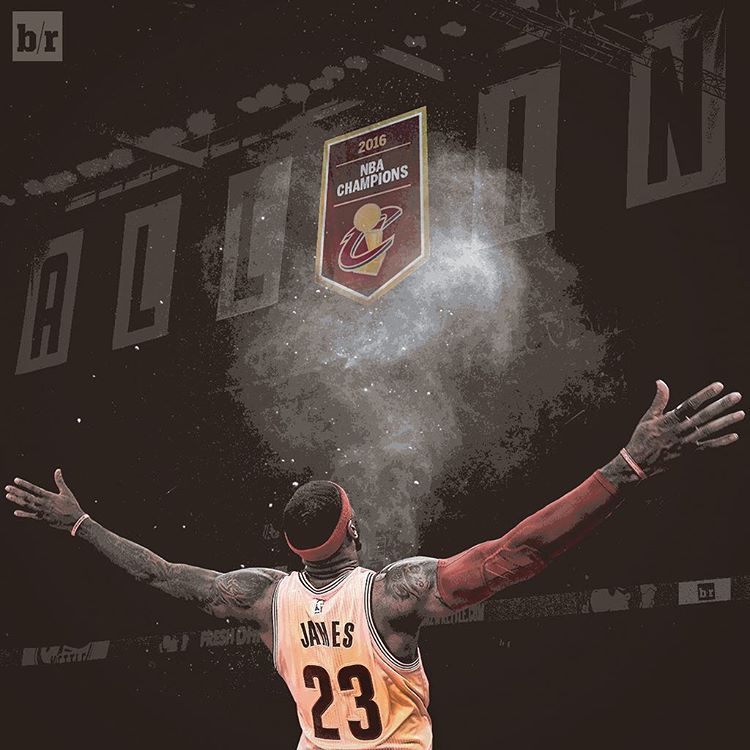 Lebron James Wallpaper Iphone: LeBron Fulfilled His Promise Of Raising A Banner In