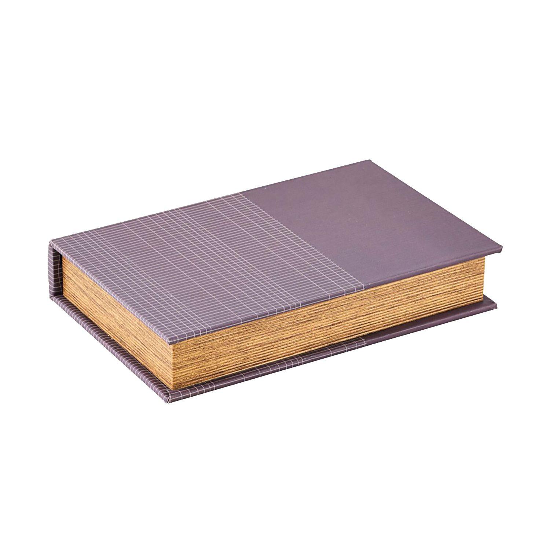 Squares bokeske fra Monograph. Oppbevaringsboks i herlig lilla farge med industriell design i form a...