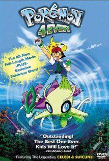 Pokemon 4 The Movie 2001 Poster In 2020 Pokemon Movies