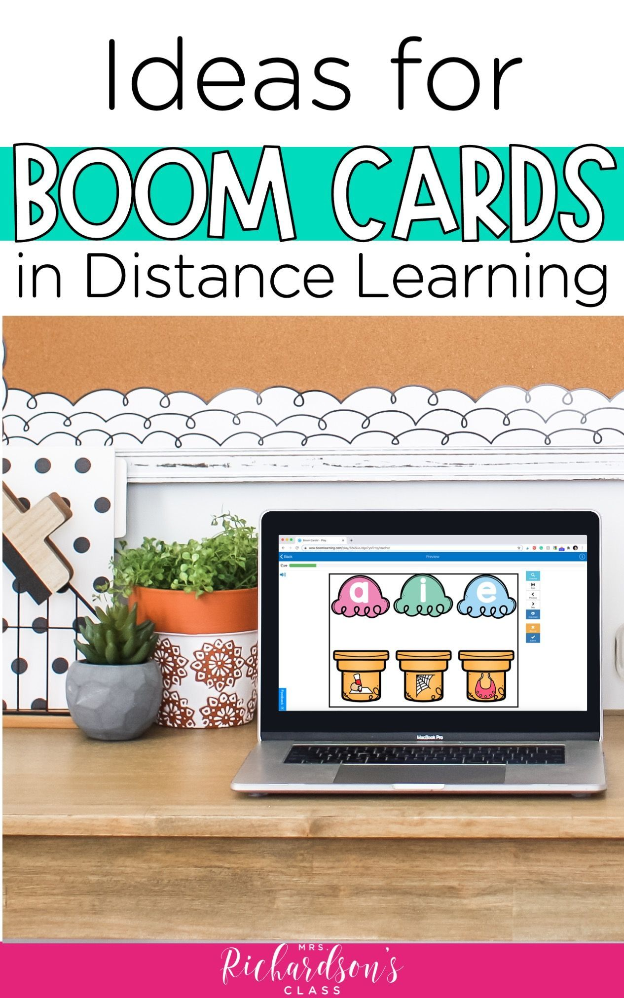 How to use boom cards for distance learning mrs