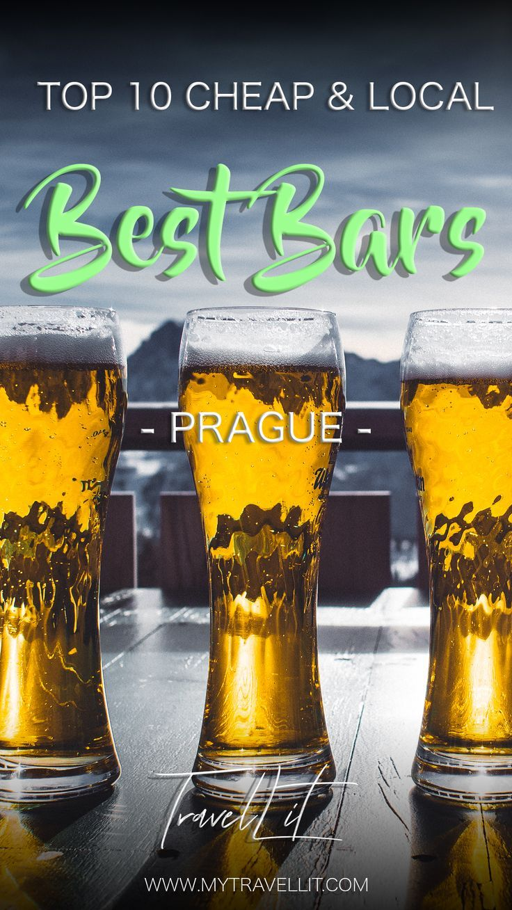 Top 10 Cheap Bars in Prague For a Great Night Out   Prague ...