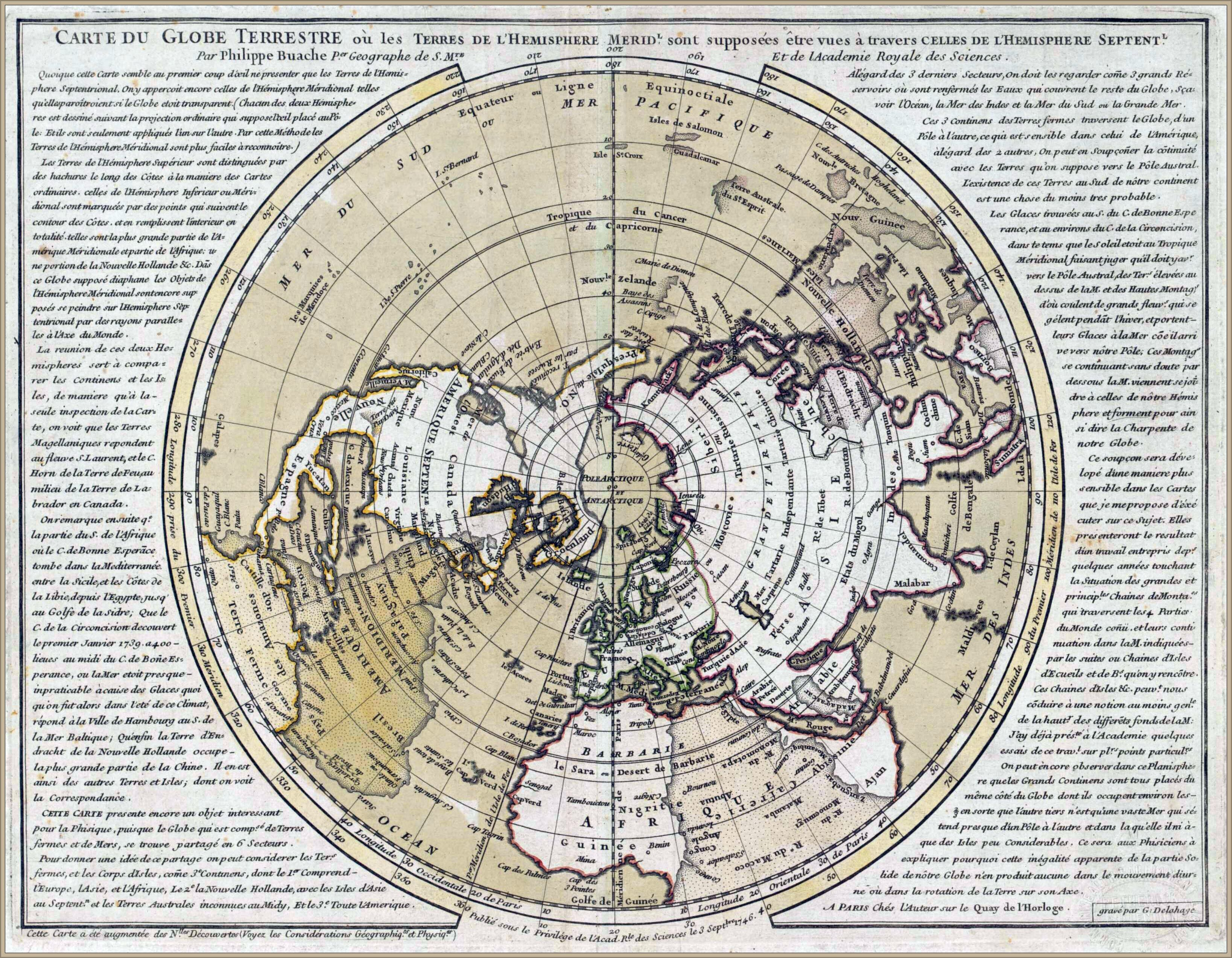 Planisphere Of The Northern Hemisphere Superimposed