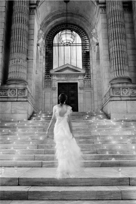 gorgeous fairy wedding dress