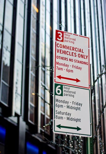 New York City Parking Signs Have Been Redesigned To Be More Easily Understood By Drivers Design By Michael Bierut An Parking Signs Sign System Wellness Design
