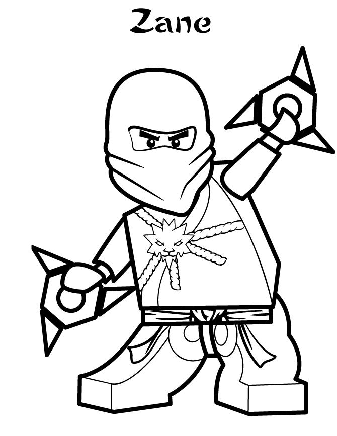 Lego Prepared Using Shuriken