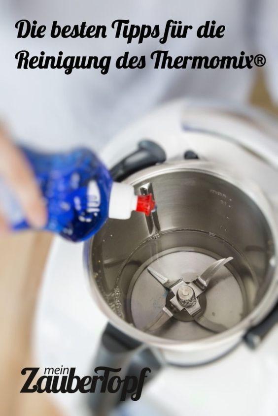 Reinigung: Thermomix TM5 + TM 31 richtig reinigen - mein ZauberTopf