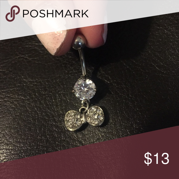 Bow tie belly ring Never been used!!! Jewelry