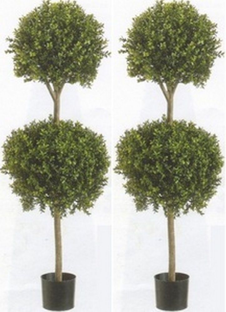 2 Artificial 56 Boxwood 2 Ball Topiary Uv Tree Outdoor Bush 3 5 Pot Fake 4 8 Potted Plants Outdoor Artificial Plants Indoor Artificial Topiary
