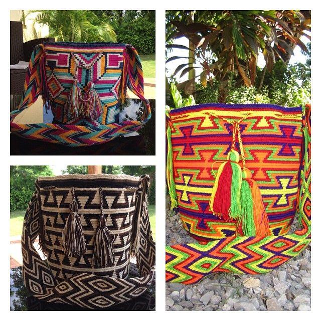 Tu puedes diseñar tu propia mochila, con el diseño y colores que más te gusten 😍❤️#wayuu #moda #mochilas #colombia #color