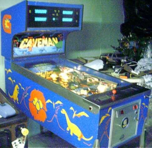Gottlieb Caveman Pinball 1982 Pinball Pinball Machines Arcade