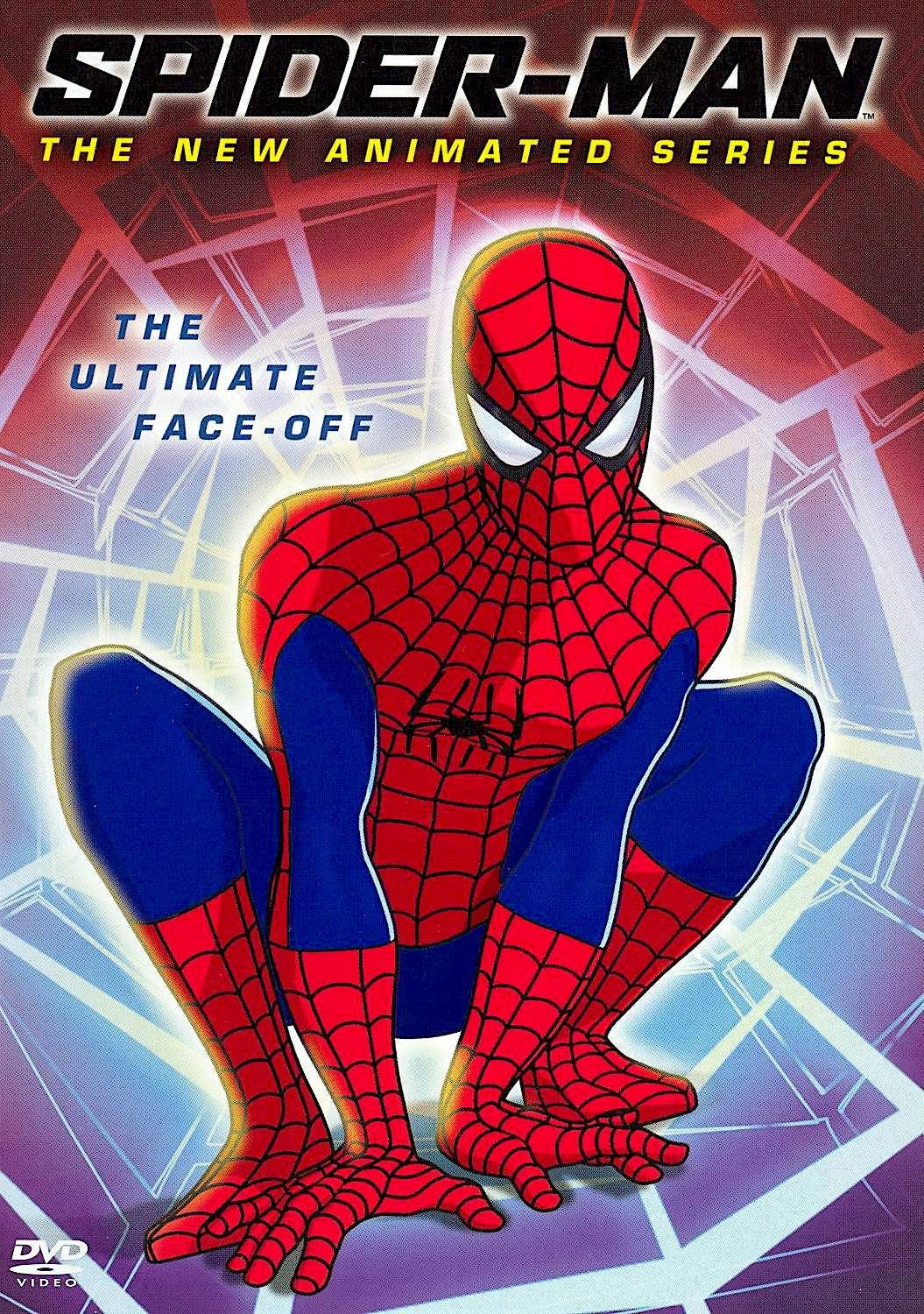 spider man the new animated series the ultimate face off dvd