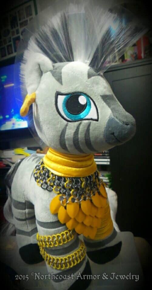 Zecora/Pony Custom made Chainmail Armor by NorthcoastArmor on Etsy
