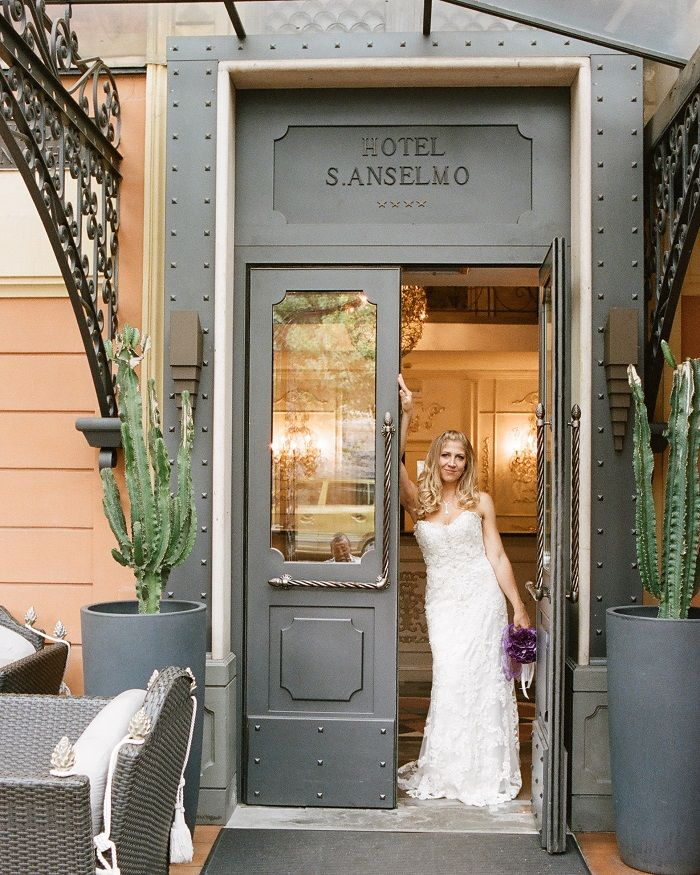 Bride in Sottero and Midgeley gown | Romantic Rome Garden wedding | Rochelle Cheever Photography | Fab Mood
