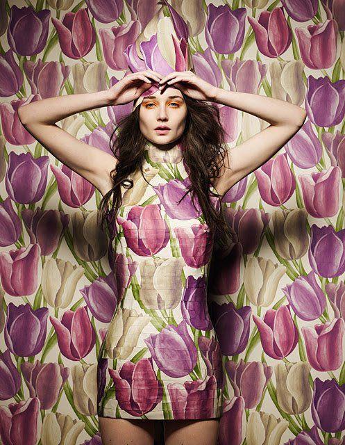 Damian Foxe wallpaper dresses