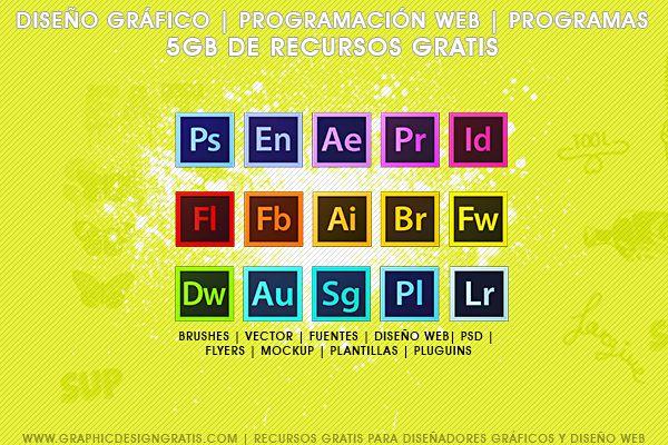 9a143e3d846bd Mega pack de 5gb de recursos para diseñadores gráficos Gratis ...
