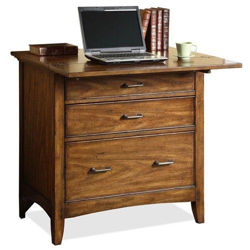 Organizing Homeoffice Ideas: Falls Village Personal Workstation By Riverside Furniture