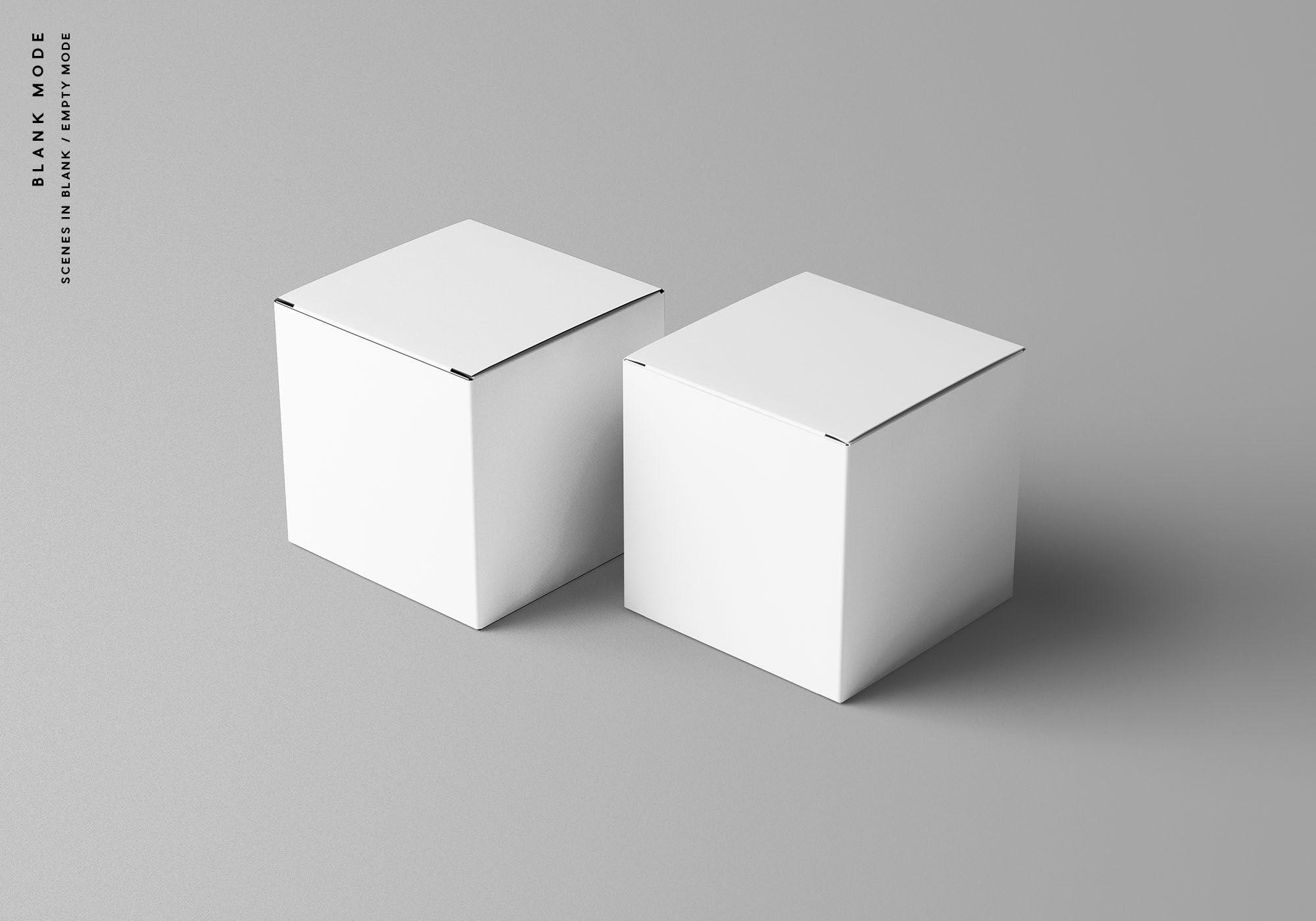 Download Square Package Box Mockup In 2021 Box Mockup Mockup Box Packaging