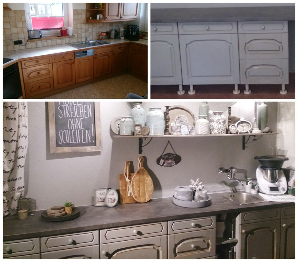 Küche Streichen Küche Renovieren Mit Annie Sloan Chalk Paint Küche Renovieren Küche Neu Streichen Küche Neu Streichen Und Gestalten