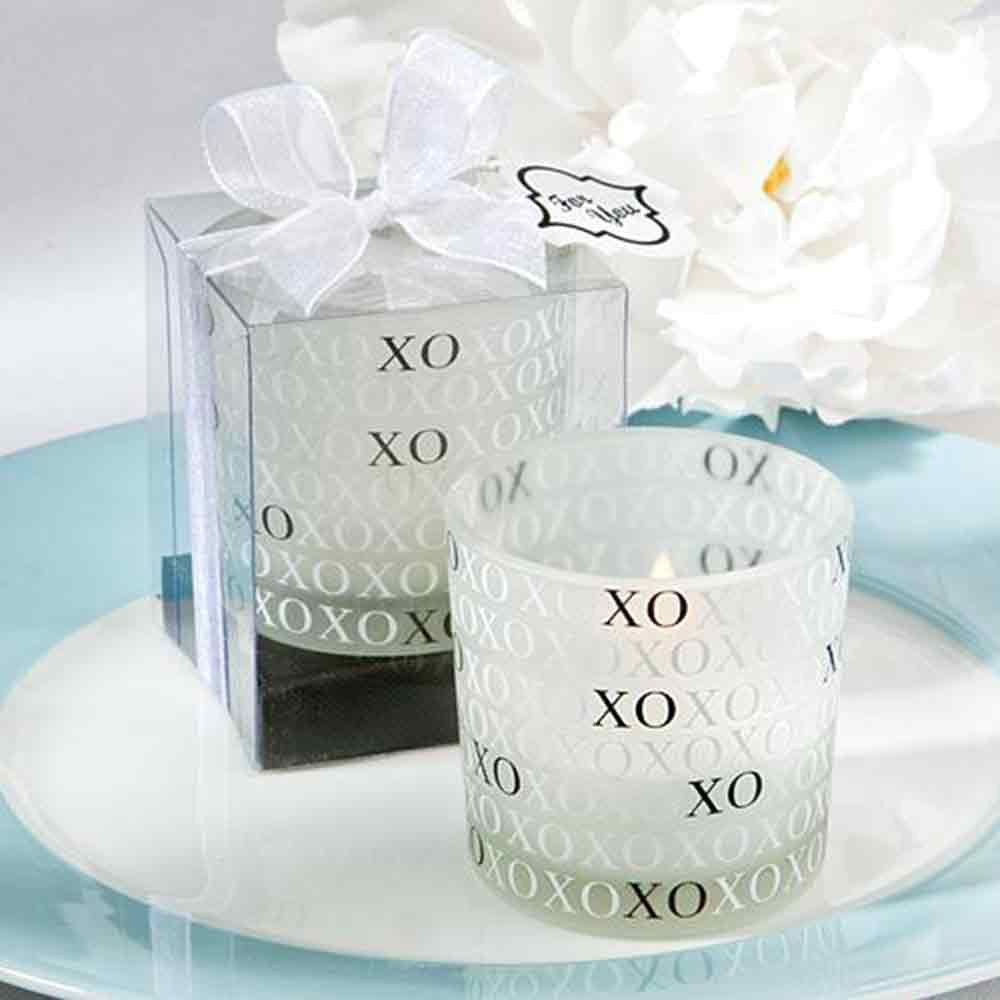 XO Candle Votive | Wedding Favours | Pinterest | Favours and Wedding
