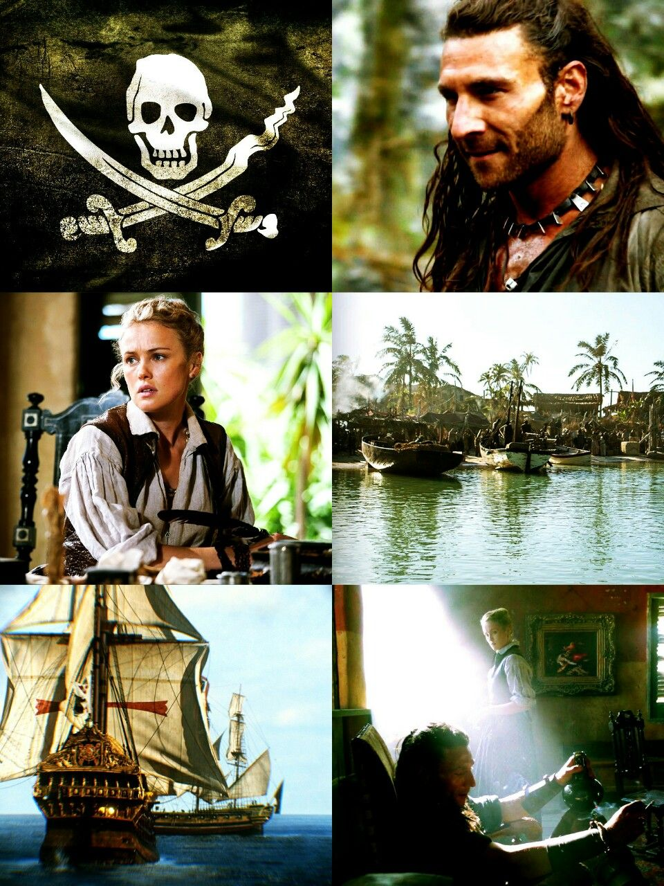 Black Sails - Charles Vane & Eleanor Guthrie