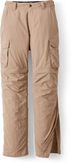 2646f8d9 REI Co-op Men's Sahara Convertible Pants with No-Sit Zips 34