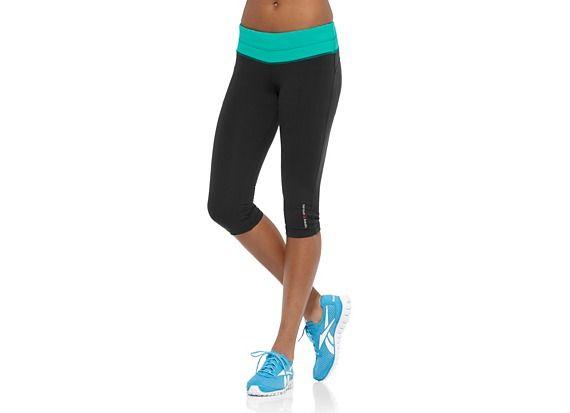 hurtownia online najlepsze ceny oferować rabaty Reebok Women's Reebok CrossFit Chase Capri Pants | Official ...