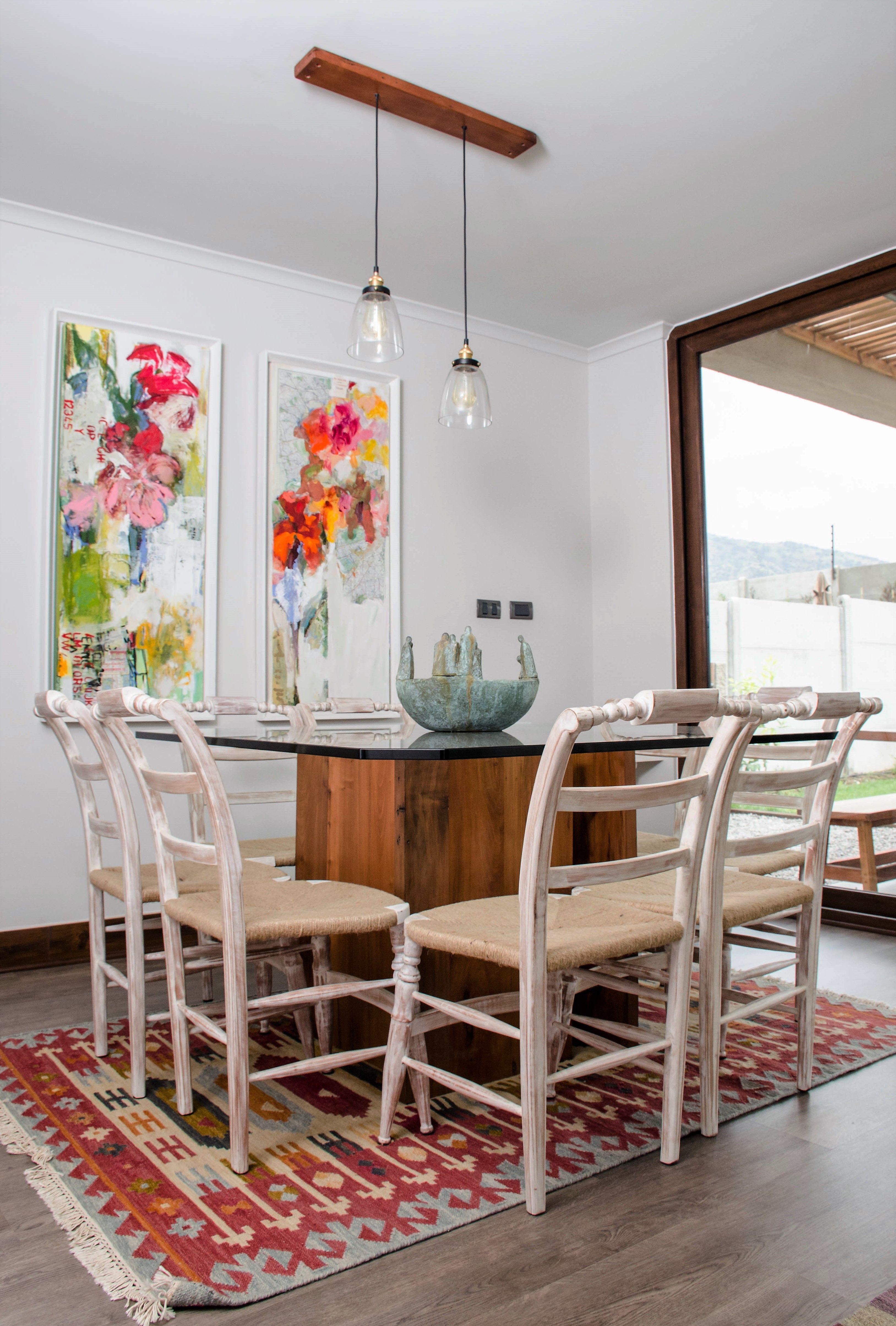 Comedor Mesa Con Base De Madera Estilo R Stico Contempor Neo Con  # Muebles Cervera