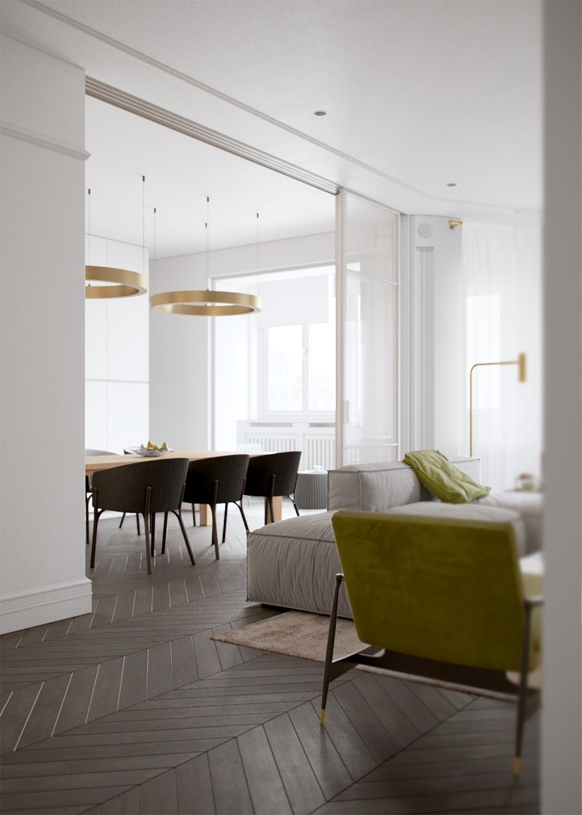 Flexi 2 Room Interior Design: Light And Modern Sophistication In A Two Bedroom Apartment