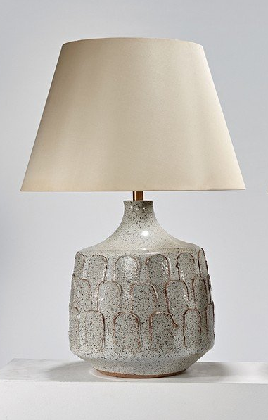 Glazed Earthenware Table Lamp From The Pro Artisan Series For Architectural Pottery 1963 Dazzling Dining Room Lamps