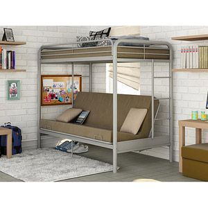 Dorel Twin Over Futon Bunk Bed Multiple Colors A Room Of One S