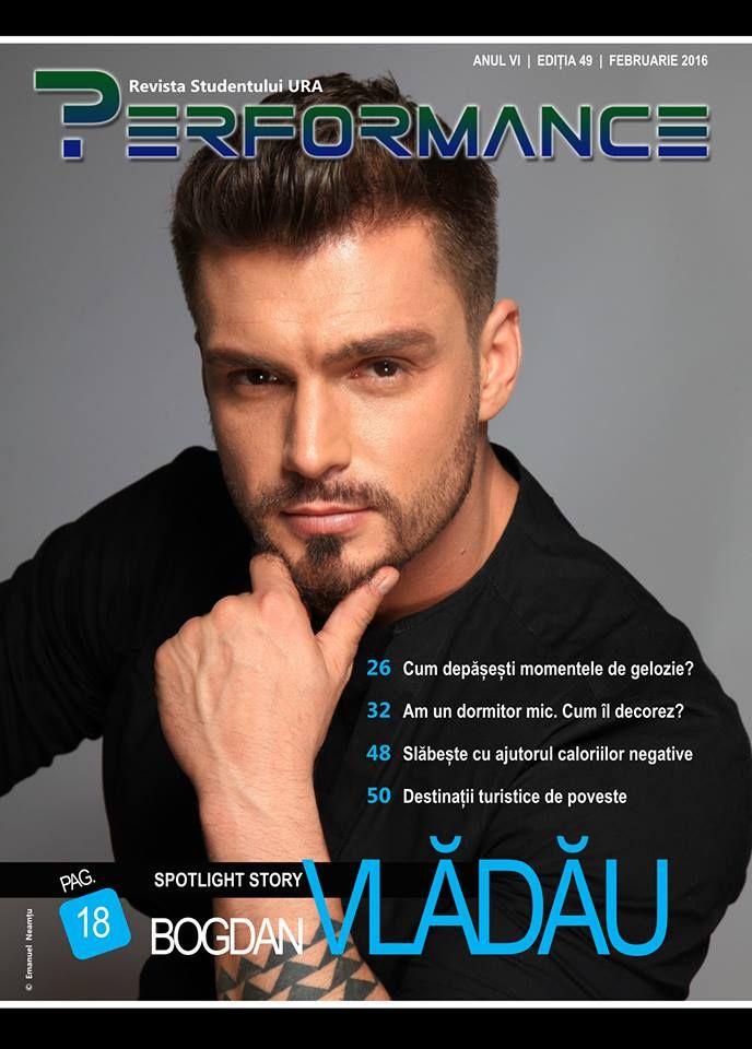 Ediția 49 - FEB 2016 te așteaptă cu o mulțime de subiecte noi și interesante emoticon smile  Spotlight Story: binecunoscutul Bogdan Vlădău care, de altfel, ne-a încântat și la Balul Bobocilor din acest an universitar.   Accesează publicația! http://performance.rau.ro/?page_id=3435