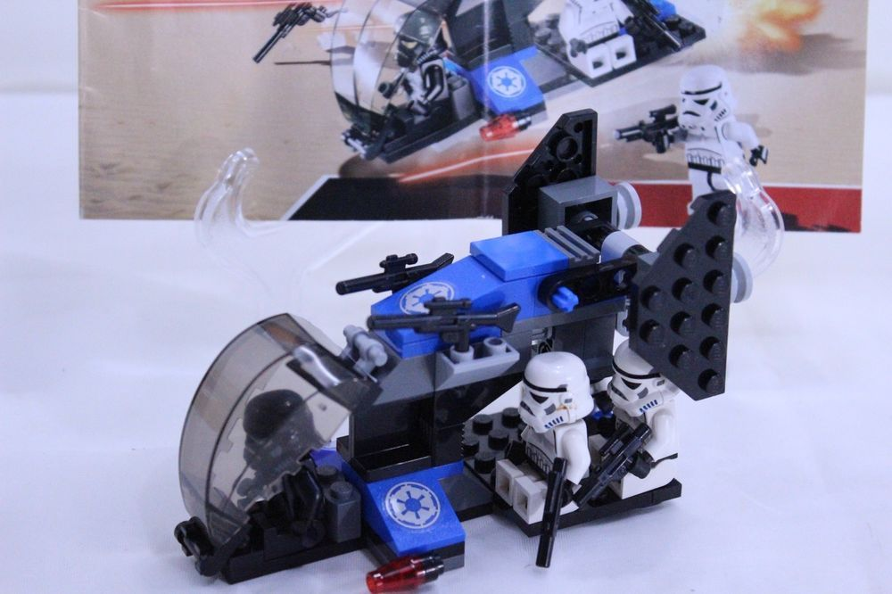 Lego Star Wars 7667 Imperial Dropship Complete With Instructions