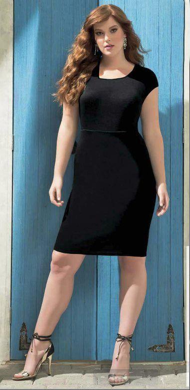 Folleto Virtual Andrea P 2021 Vestidos Negros Para Gorditas Vestidos De Dama Vestidos Negros Elegantes