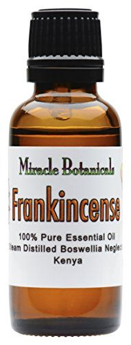 Miracle Botanicals Frankincense Essential Oil 100 Pure Boswellia