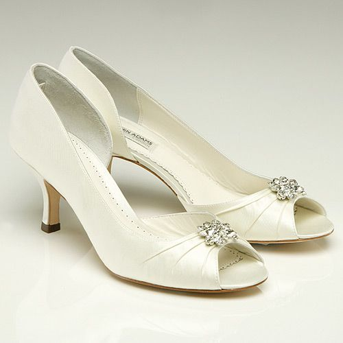No Heel Wedding Shoes: Benjamin Adams Celine Wedding