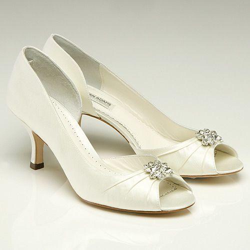 Celine Low Heel Wedding Shoes Size 6 8
