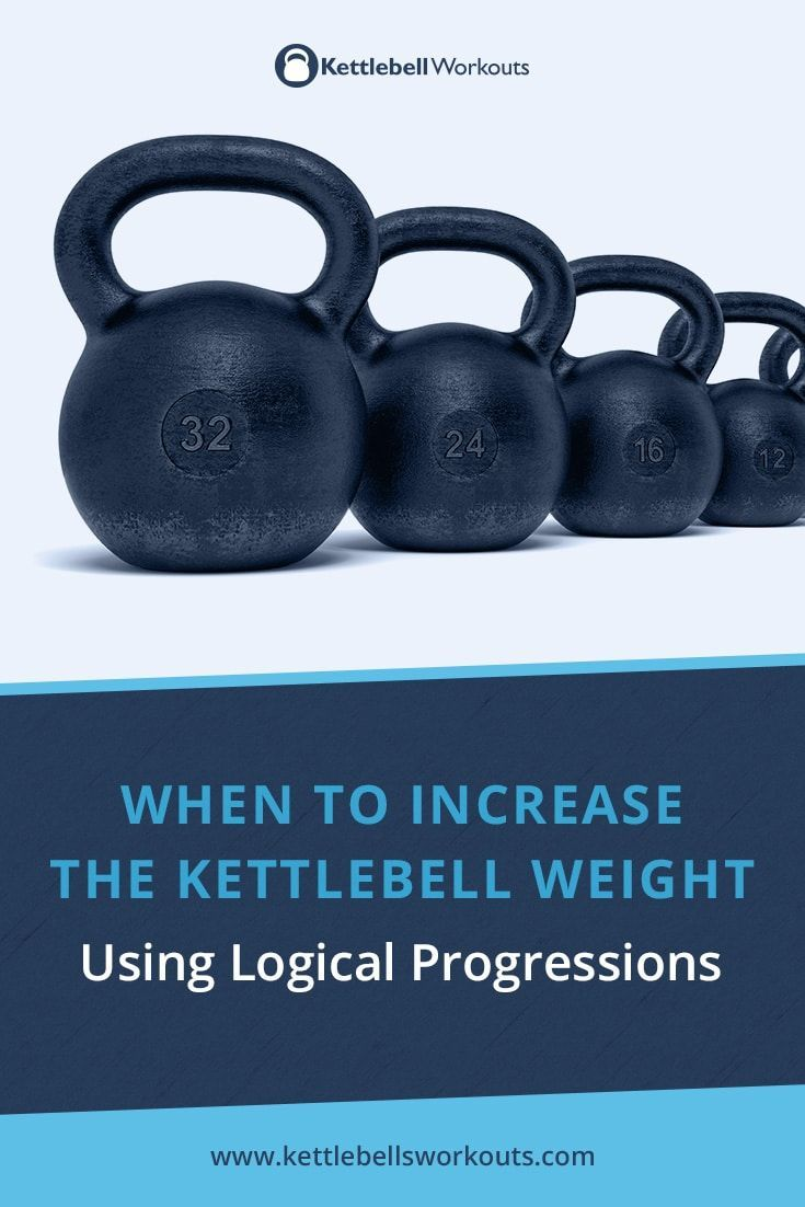 Discover when to Increase the Kettlebell Weight and why using logical progressions means you continu...
