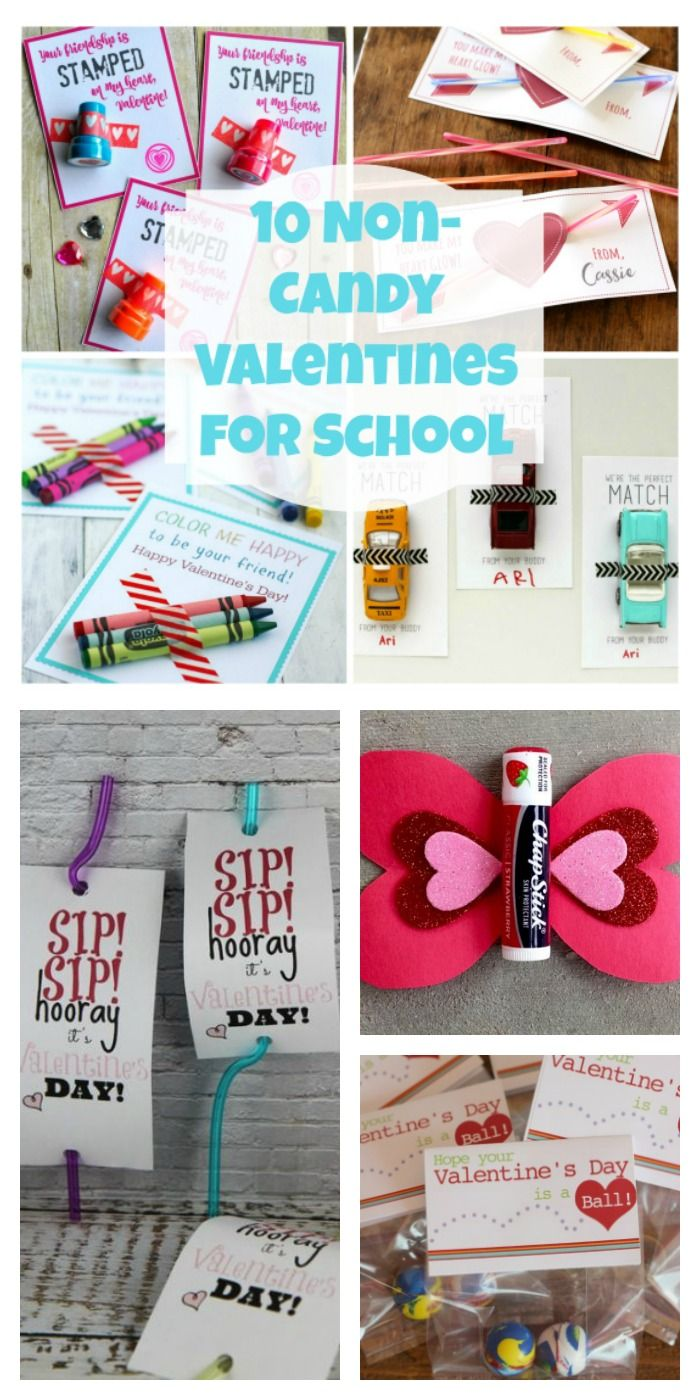 10 noncandy valentines for school in 2020 with images