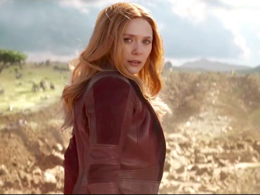 Elizabeth Olsen Passed On Reading The Full Infinity War Script Business Insider Elizabeth Olsen Scarlet Witch Scarlet Witch Elizabeth Olsen