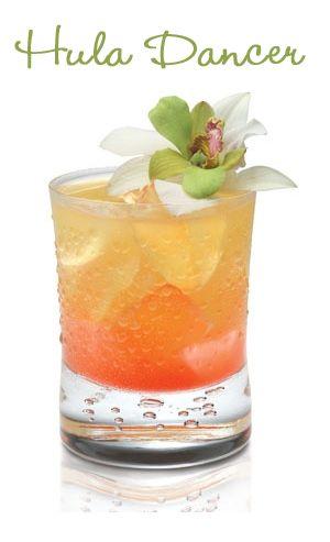 Hula Dancer Summer Cocktail Recipe | Getränke, Alkohol und Ananas wodka