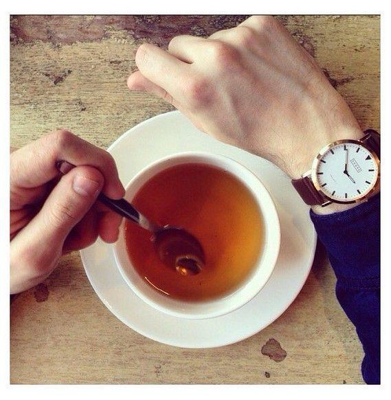 Es ist Zeit für eine Tasse #Tee.