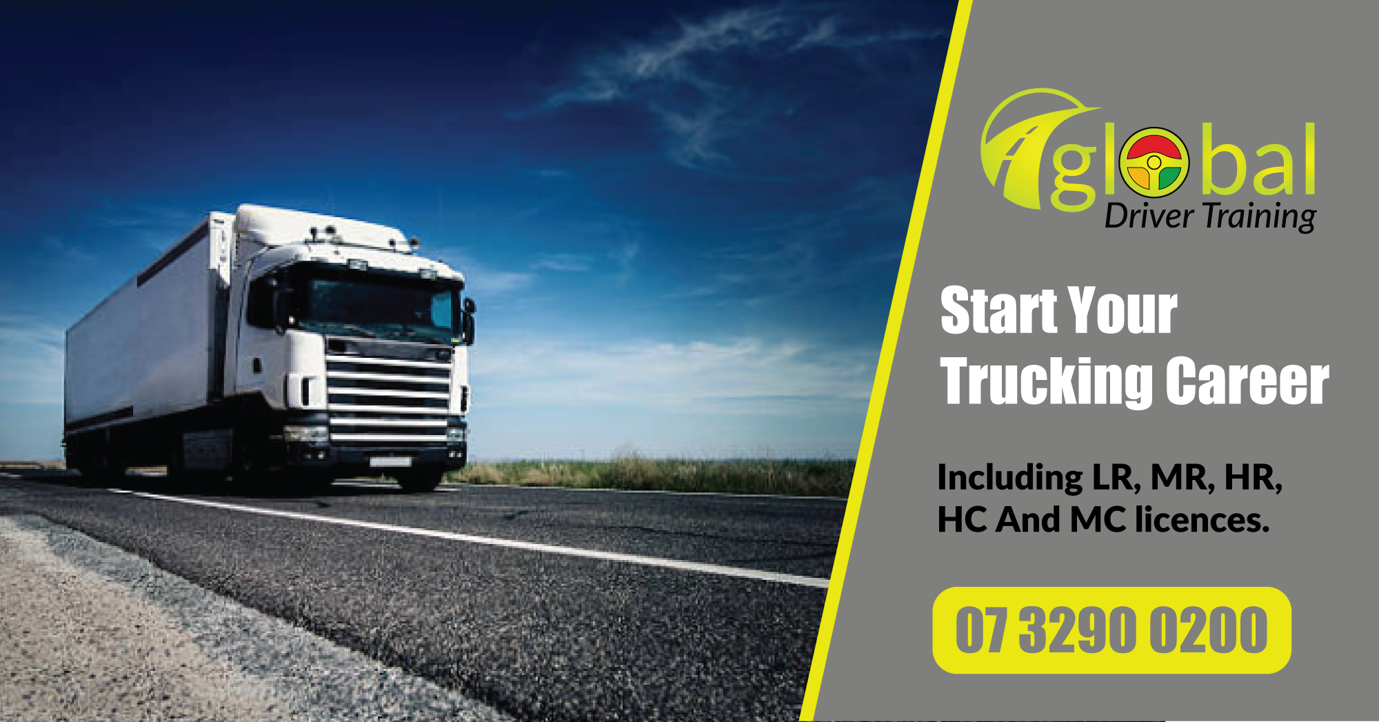 Career Trucking Start Your Trucking Career With Global Driver Training We Are
