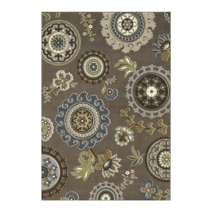 Nebraska Furniture Mart – Shaw Newport Sanjula 9'2'' x 12'11'' Brown Area Rug