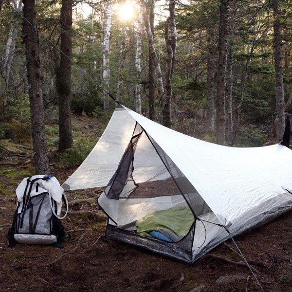 Echo I Cuben Fiber Ultralight Shelter System Backpacking Tent Camping Survival Outdoor
