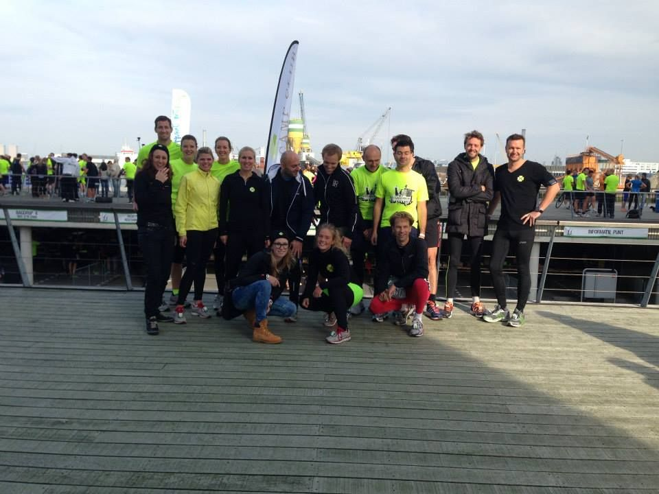 De hele groep van de Harbour Run in Rotterdam!  www.thebootcampclub.nl
