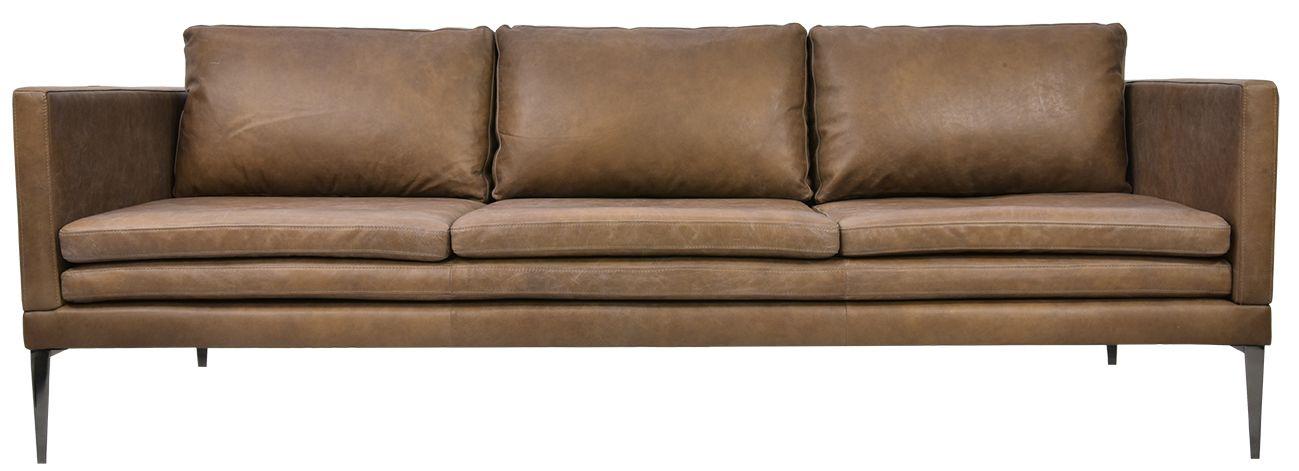 Portland 3 Seater Leather Sofa   3 seater leather sofa ...
